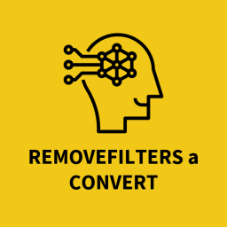 Removefilters a Convert