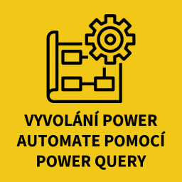 Vyvolání power automate pomocí Power Query
