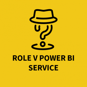 Role v Power BI Service