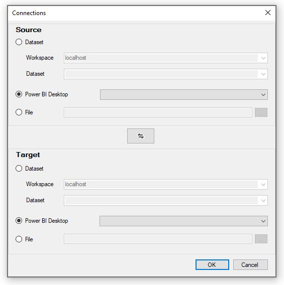 ALM Toolkit úvodní obrazovka
