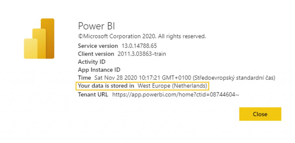 Kde se nachází můj Power BI Service