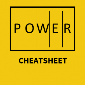 Power BI CheatSheet